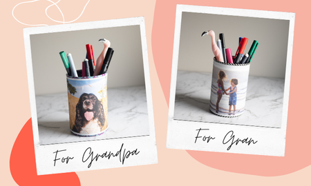 Get Crafty: Personalised Pen Holder
