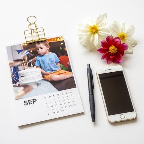 A5 calendar prints