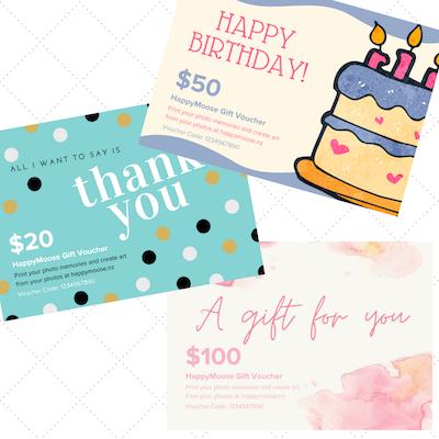 Gift vouchers - HappyMoose