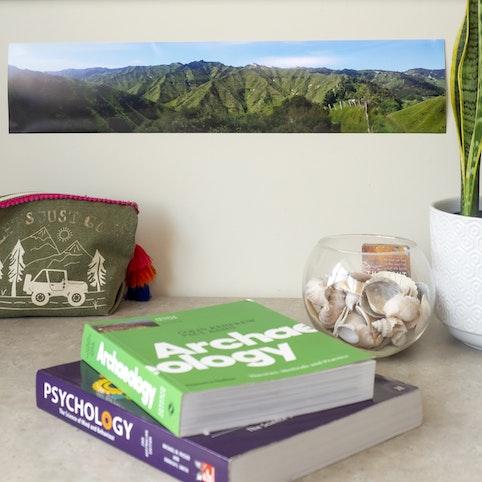 """5x24"""" panoramic photo print."""