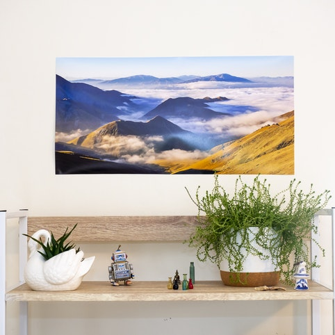 "12x24"" panoramic photo print."