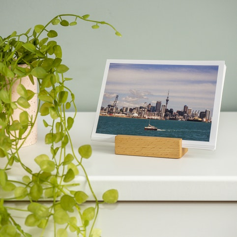 Photo cards are ideal for display.