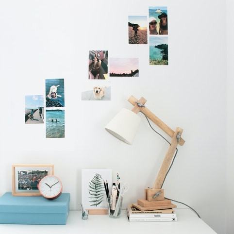 """4x6"""" photo wall decals (sold as set of 4)."""