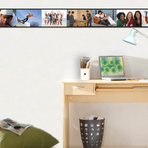 PhotoTrax sets include removable adhesive mounts.