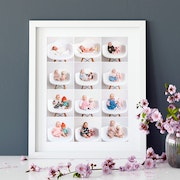 Collage framed prints- HappyMoose