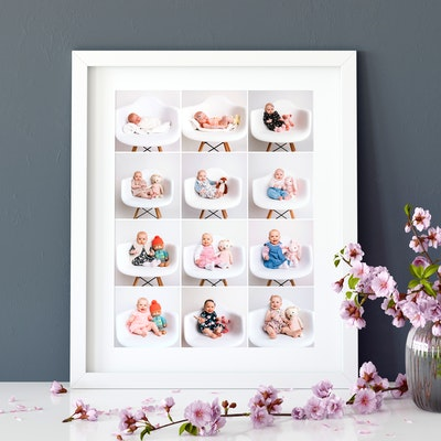 Collage framed prints - HappyMoose