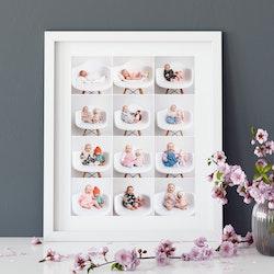 Collage framed prints - HappyMoose