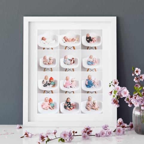 16x20 inch (40x50cm) collage frame